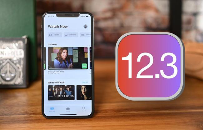 Apple ra mat iOS 12.3, ung dung Apple TV hoan toan moi.