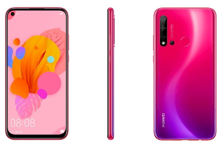 Huawei chuan bi ra mat mot chiec smartphone gia re voi man hinh duc lo va 4 camera sau (3).